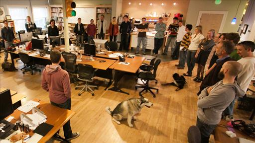 daily stand up meeting